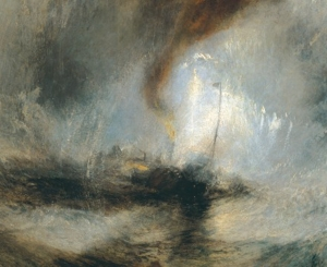 "William Turner, ""La tempesta di neve"", 1842"